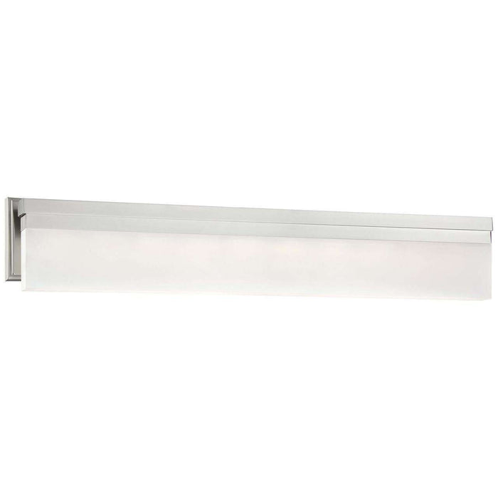 Skinny Led Wall Sconce Brushed Nickel