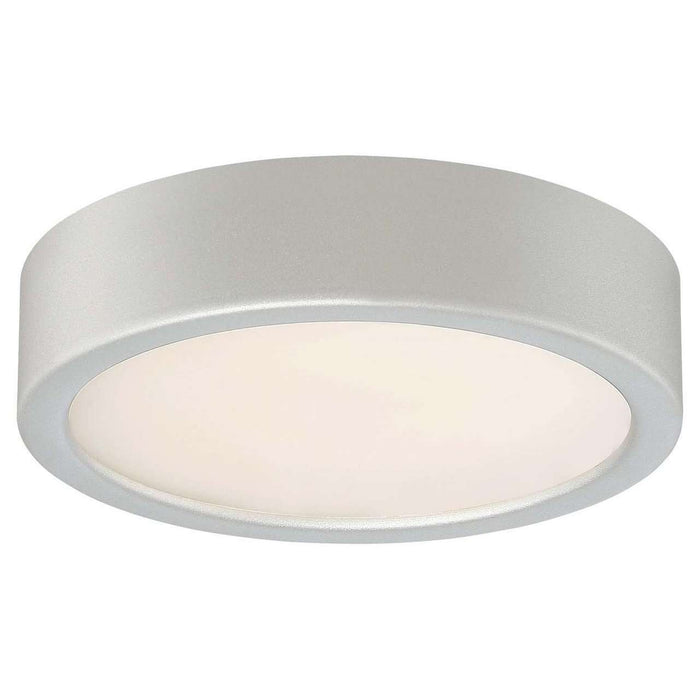 Led Flush Mount Silver