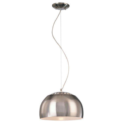 1 Light Pendant Brushed Nickel
