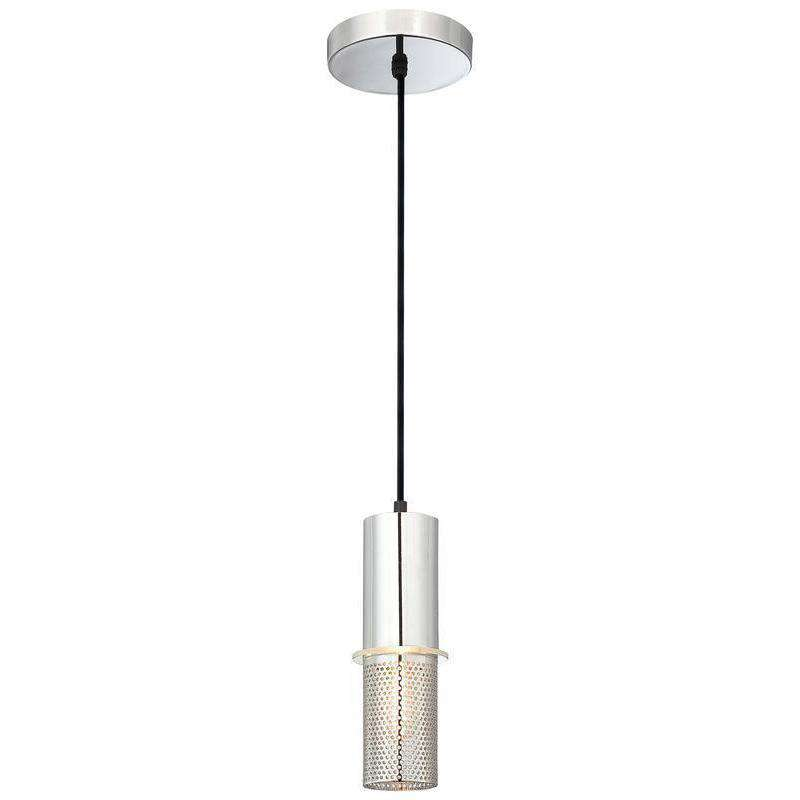 Larry 1 Light Mini Pendant Chrome