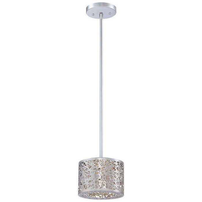 Hidden Gems Led Mini Pendant Chrome *quickship*