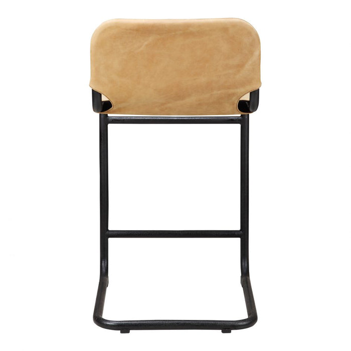 BAKER COUNTER STOOL TAN- SET OF 2
