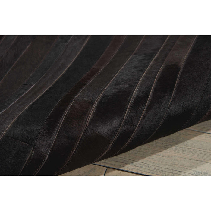 Prarie PRA1 Black Area Rug by Calvin Klein