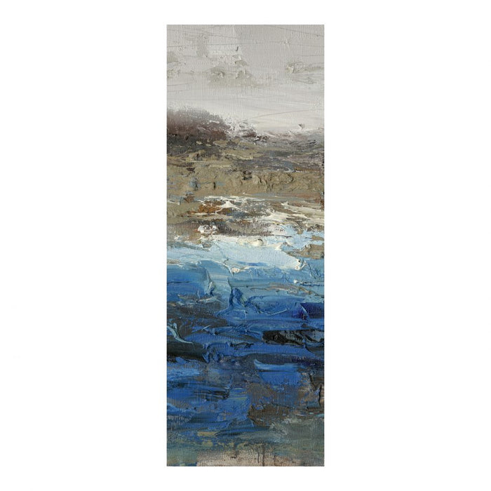 BLUE POND WALL DECOR