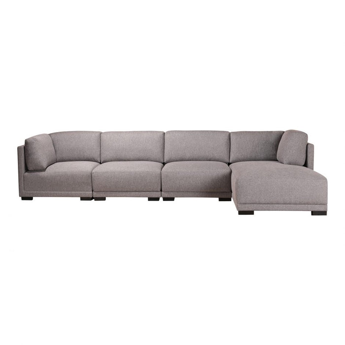 ROMEO MODULAR SECTIONAL RIGHT GREY