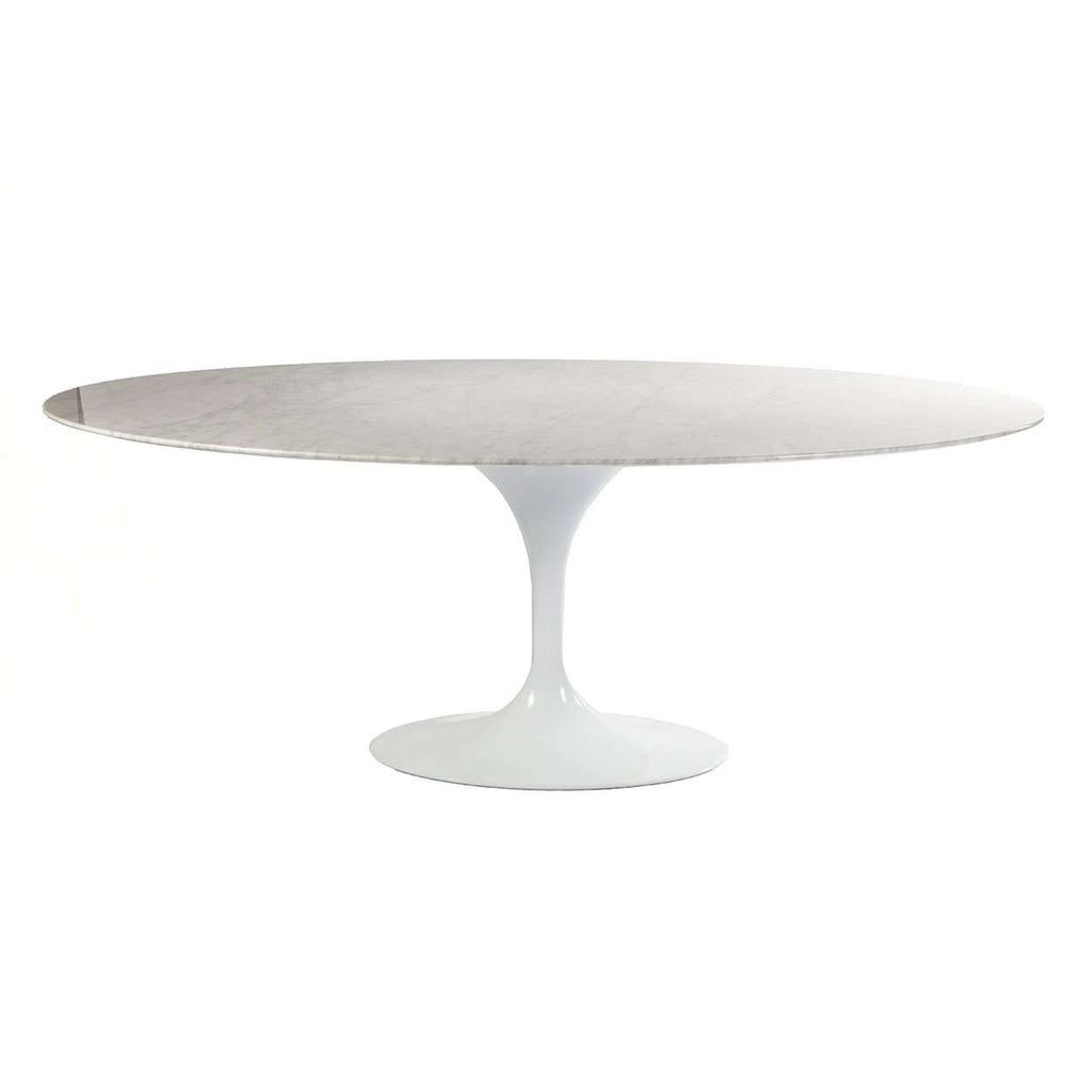 buy online 5a5b6 094b0 Carrara Marble Tulip Dining Table - 79