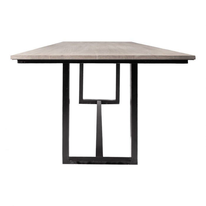 TIBURON RECTANGULAR DINING TABLE BLUSH