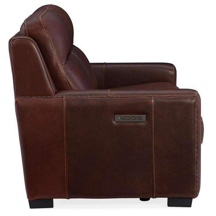 Aviator Power Motion Loveseat with Power Headrest & Power Lumbar Support