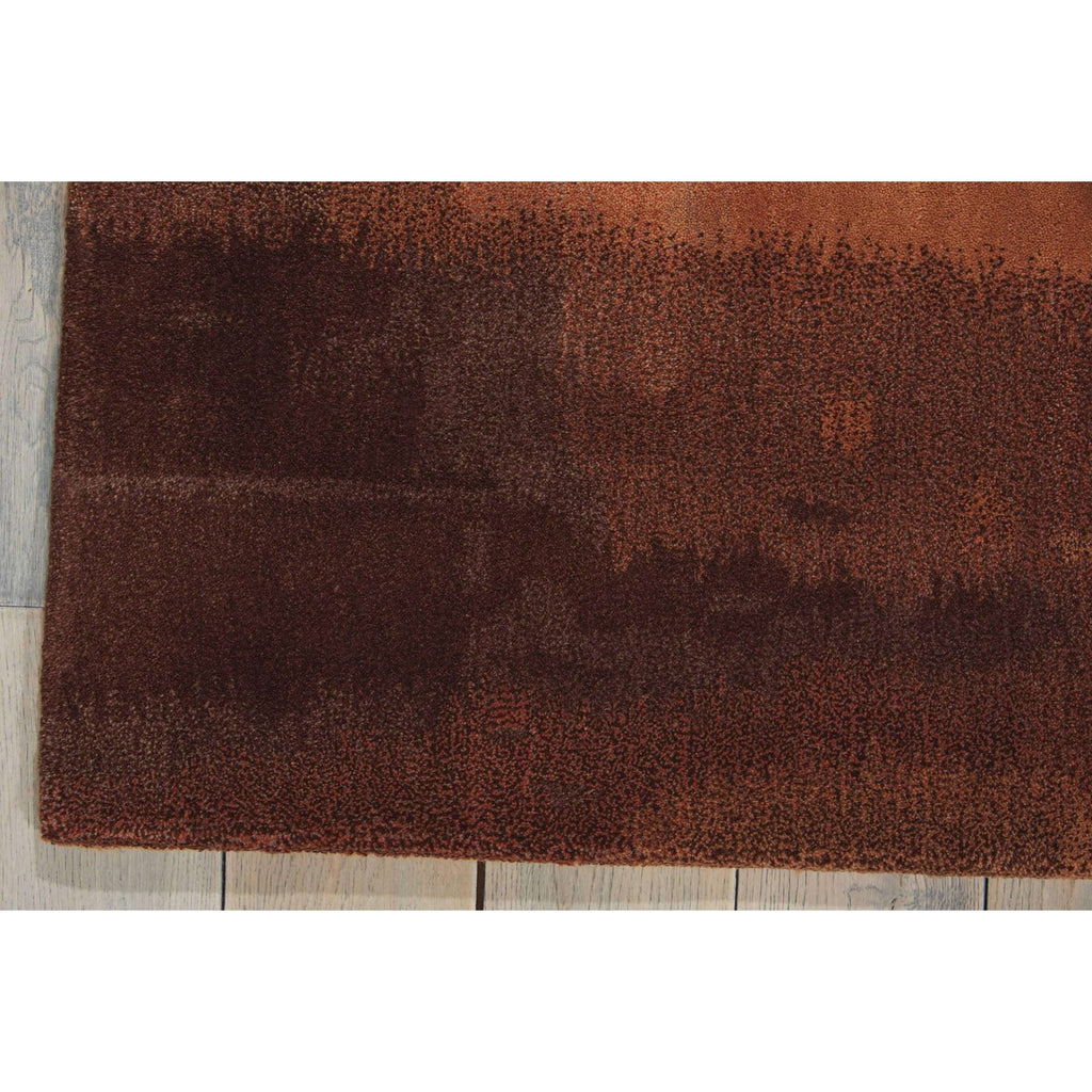 Calvin Klein Home Luster Wash Amber Wash Copper Area Rug