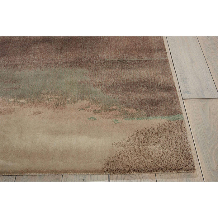 Calvin Klein Home Luster Wash Beryl Wash Light Green Area Rug