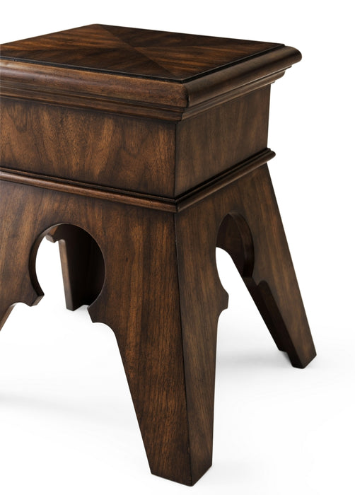 The Gable Accent Table