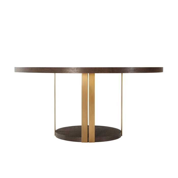 Tambura Dining Table - Brass