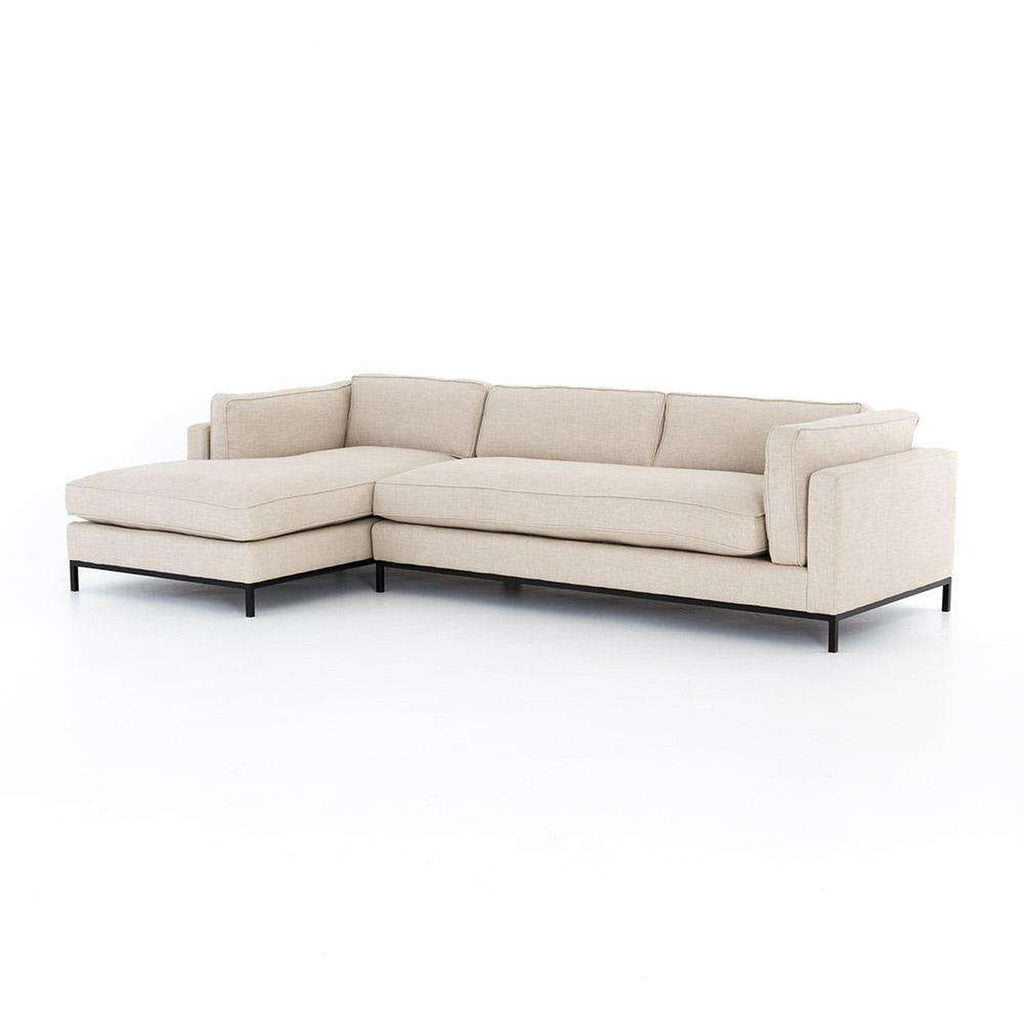Grammercy 2 Piece Sectional w/ Chaise