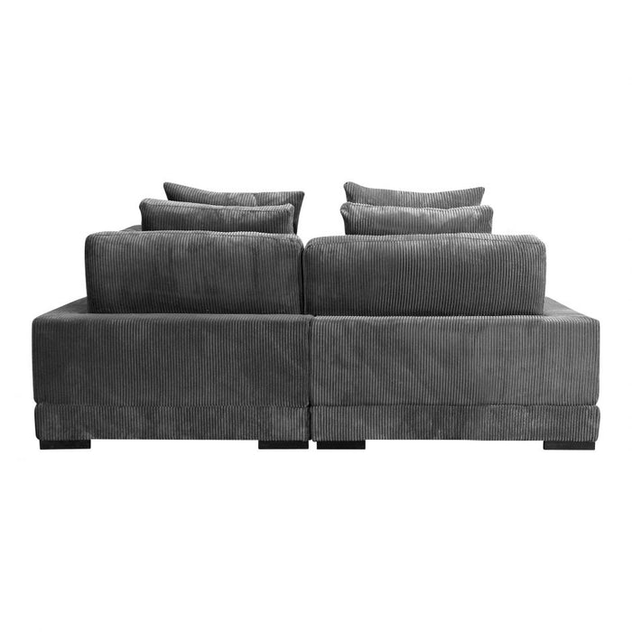 TUMBLE NOOK MODULAR SECTIONAL CHARCOAL