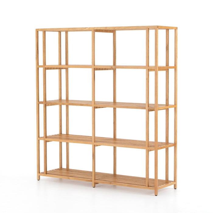Rocco Bookshelf-Natural Oak