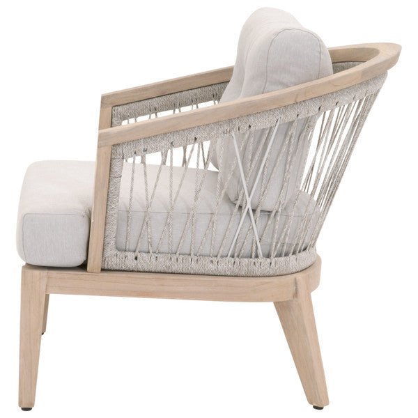 Web Outdoor Club Chair Platinum, Pumice