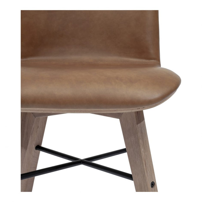 NAPOLI LEATHER DINING CHAIR