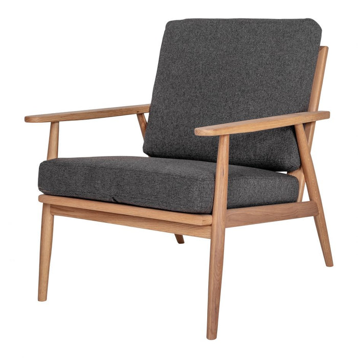 HARPER LOUNGE CHAIR ANTHRACITE
