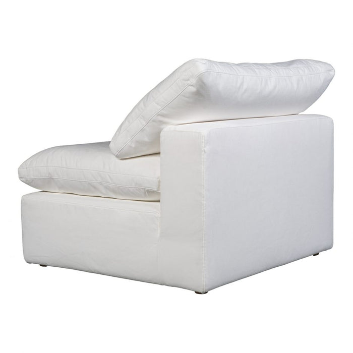 TERRA CONDO ARMLESS CHAIR LIVESMART FABRIC CREAM