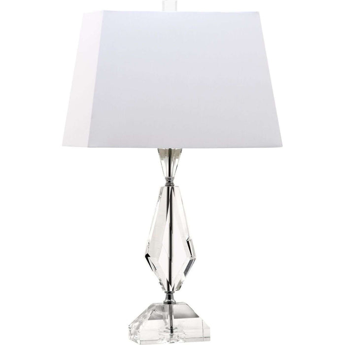 "25""H Diamond Facet Crystal Table Lamp"