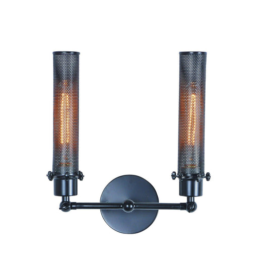 1450 Nelson Collection Wall Lamp Black Finish