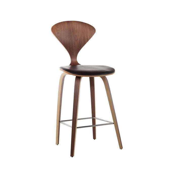 Cherner Bar Stool Upholstered  FEB1161BLKA