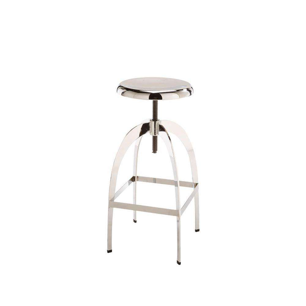 COLBY ADJUSTABLE BARSTOOL - CHROME