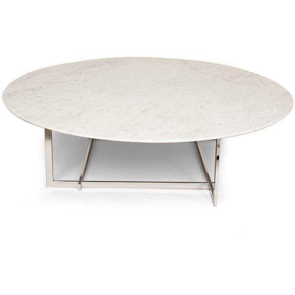 Mid-Century Modern Morag Marble Coffee Table