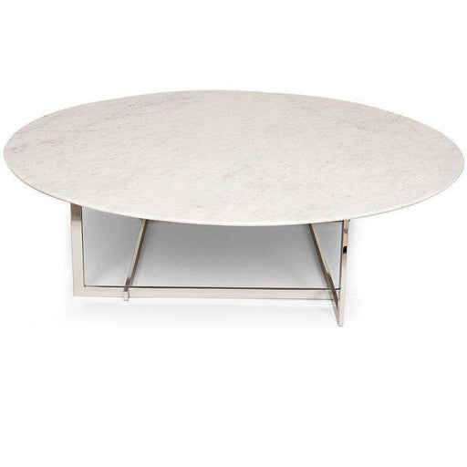 Mid Century Modern Morag Marble Coffee Table ...