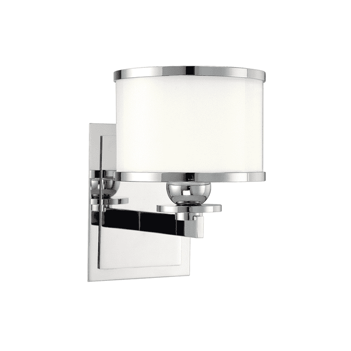 Basking Ridge 1 Light Bath Bracket Polished Nickel
