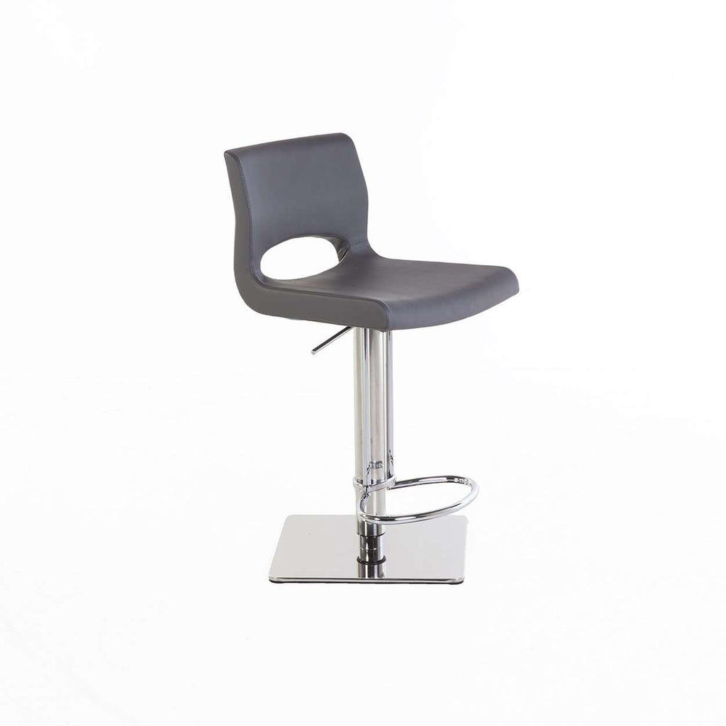 Modern Calanthe Lowback Bar Stool