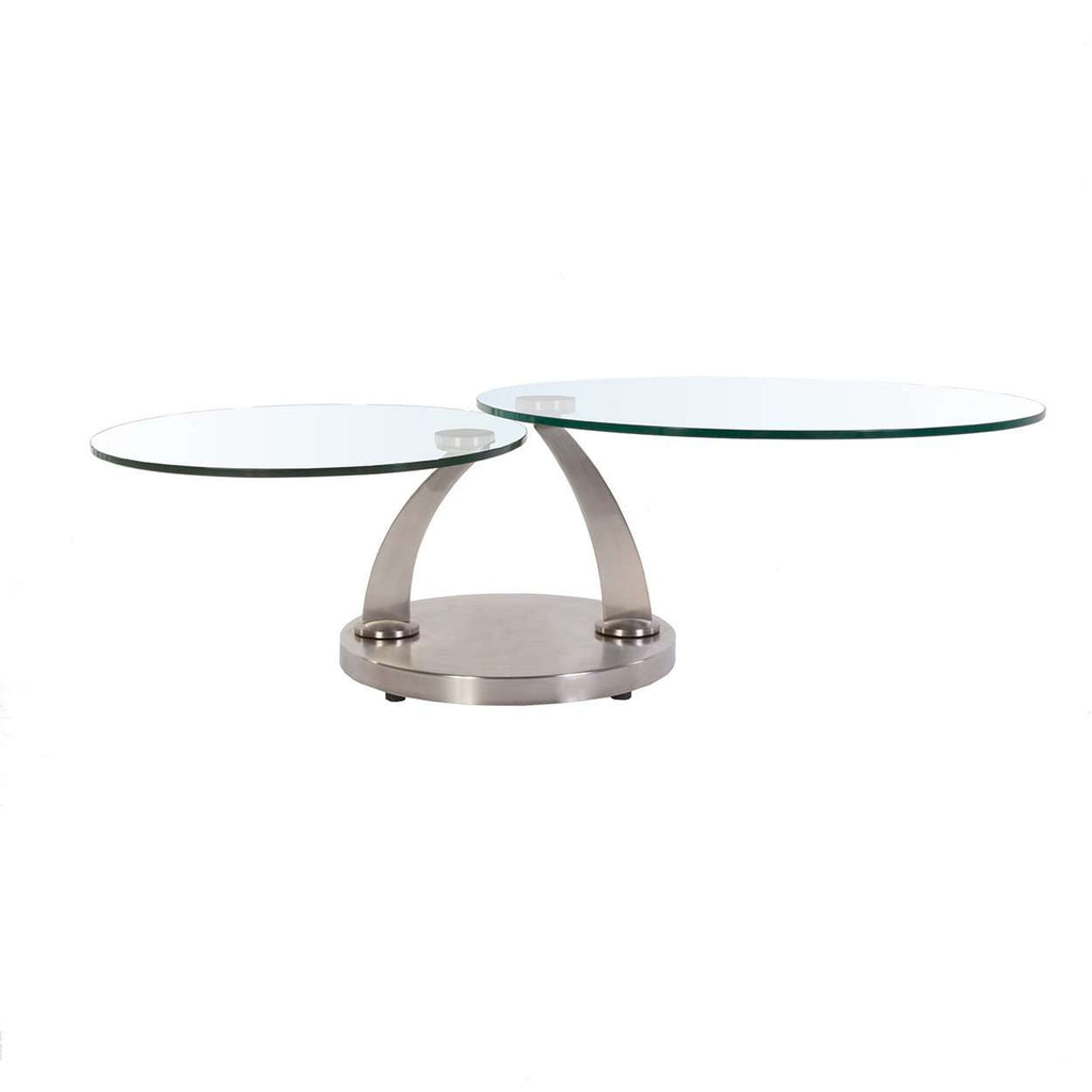 Modern Discus Adjustable Coffee Table