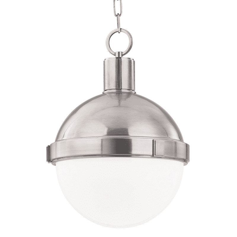 Lambert 1 Light Pendant Satin Nickel