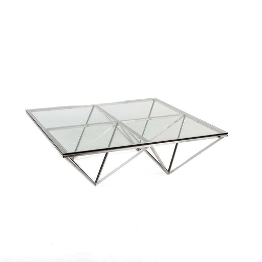 Modern Reproduction Aldana Coffee Table Inspired by Paolo Piva