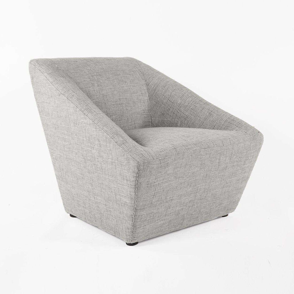Modern Anson Lounge Chair - Grey