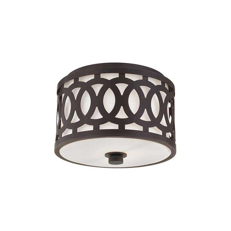 Genesee 1 Light Small Flush Mount Old Bronze