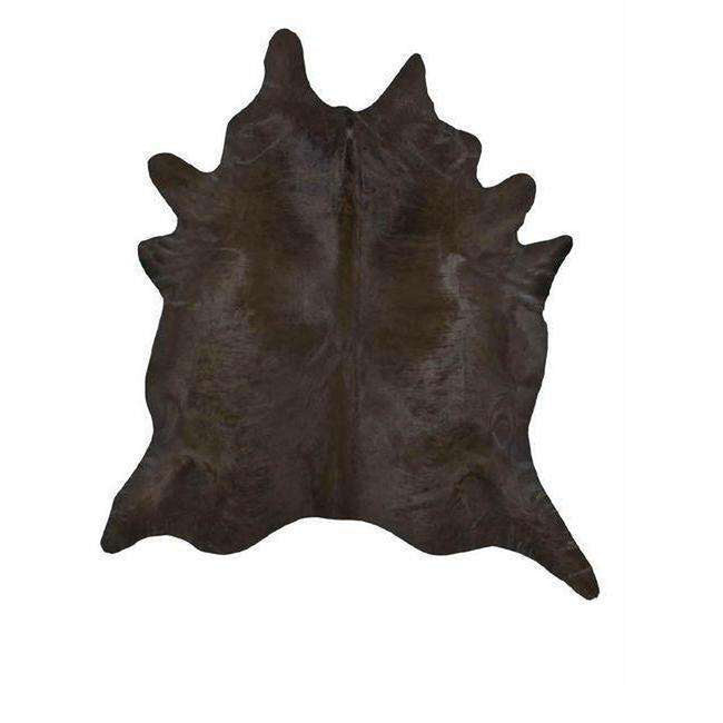 Chocolate Dyed Cowhide
