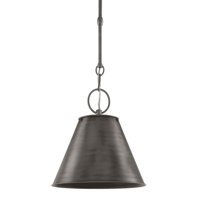 Altamont 1 Light Pendant Historic Nickel