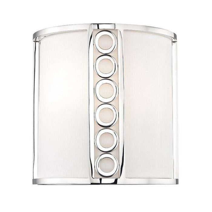 Infinity 2 Light Wall Sconce Polished Nickel