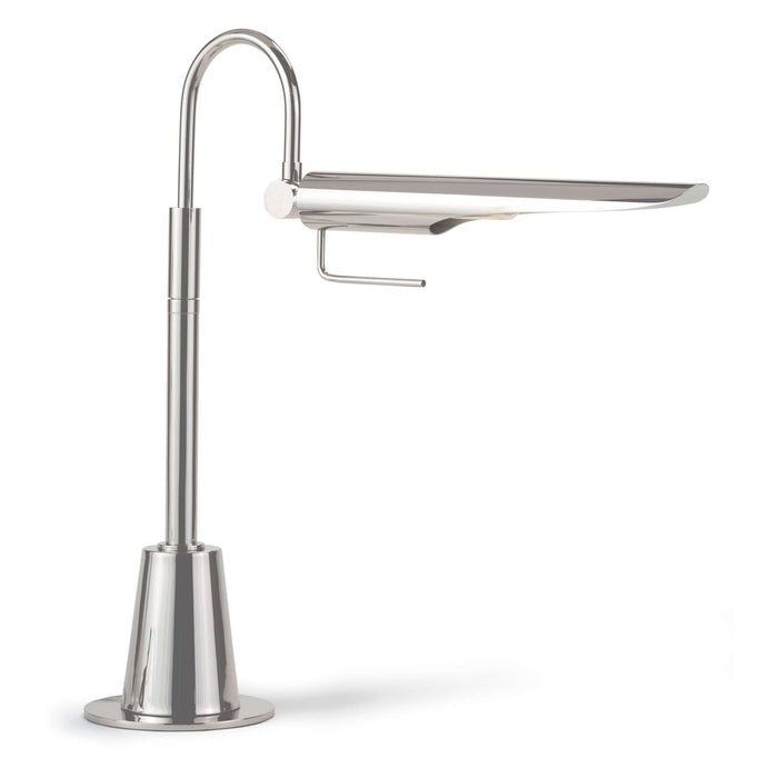 Raven Task Lamp (Polished Nickel)