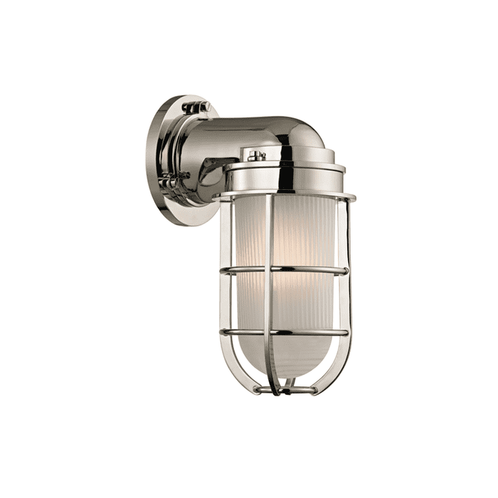 Carson 1 Light Wall Sconce Polished Nickel