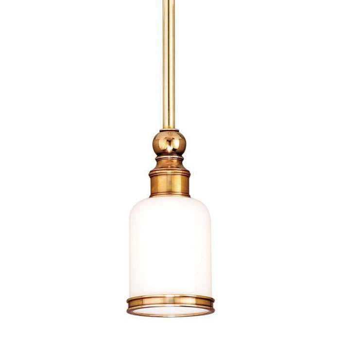 Chatham 1 Light Pendant Aged Brass