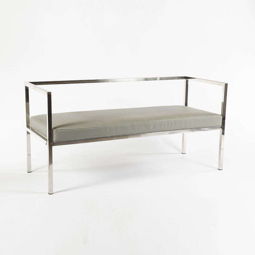 Contemporary Hardy Bench - grey