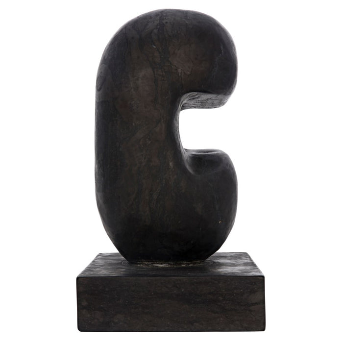 Juno Sculpture, Black Marble