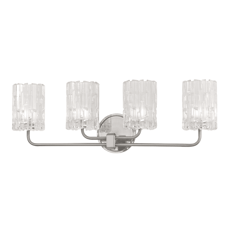 Dexter 4 Light Bath Bracket Satin Nickel