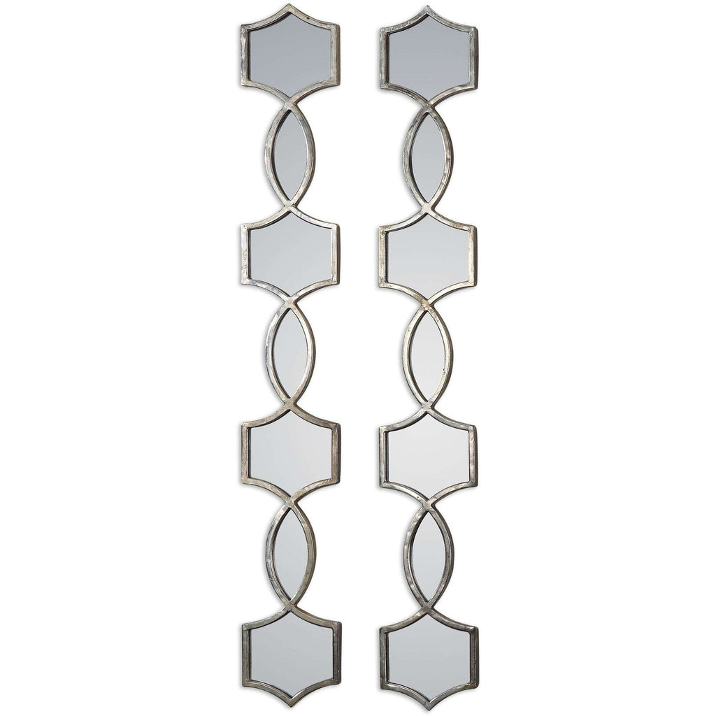 Uttermost Vizela Metal Mirrors Set/2