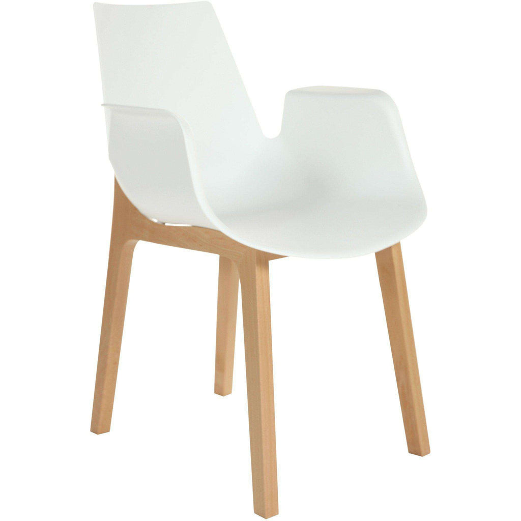 Ventura Chair - White  **PICK UP ONLY**
