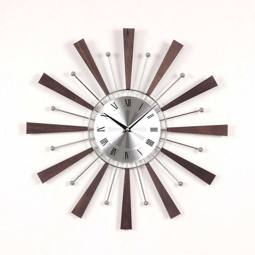 Mid Century Modern Rome Spindle Clock