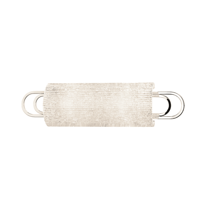 Buckley 2 Light Bath Bracket Polished Nickel