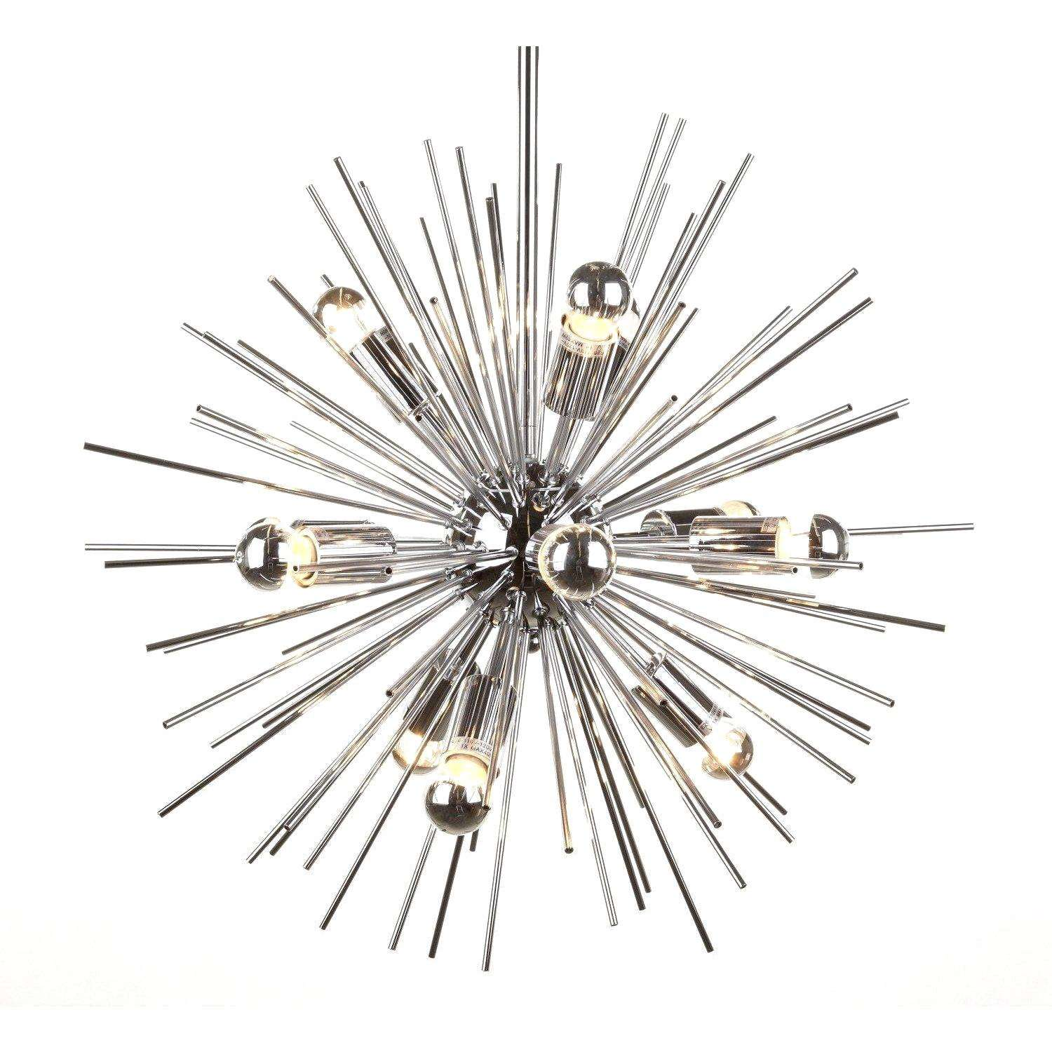 Mid century modern reproduction zanadoo chandelier inspired by zanadoo chandelier chrome pick up only aloadofball Choice Image